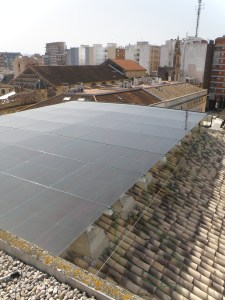 Ventilated Photovoltaic Skylight for a City Hall in Spain