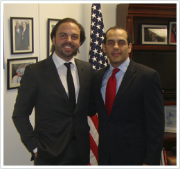 Álvaro Beltrán, Onyx Solar's General Manager and Juan Verde, the Deputy Assistant Secretary (DAS) for Europe and Eurasia at the U.S. Department of Commerce
