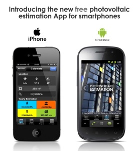 Photovoltaic Estimation App for Smartphones