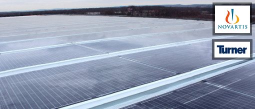 Photovoltaic Skylight installed at Novartis (USA)