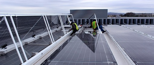 World Largest PV Skylight installed in USA
